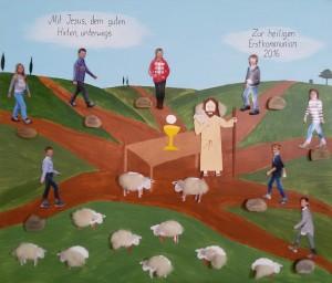 Erstkommunion in Walleshausen 2016